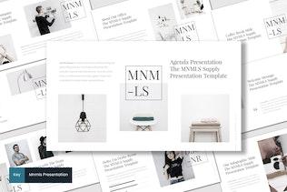 Mnmls - Keynote Template