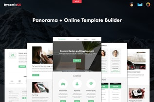 Panorama - Responsive Business Email + Builder