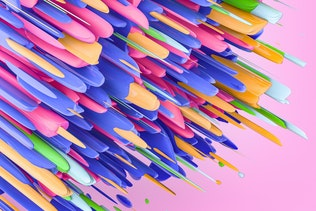Colorful 3D Abstract Backgrounds