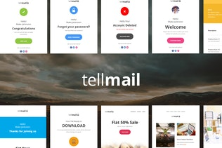 tellmail - 20 Unique Responsive Email Set