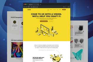Duduk - Digital Agency HTML Template