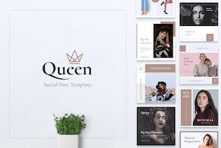 QUEEN Fashion Instagram & Facebook Post