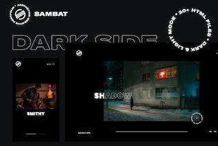 Sambat - Creative Digital Portfolio HTML Template