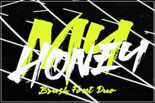 My Honey Font Duo