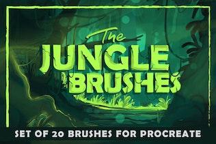 The Jungle: Procreate Brushes
