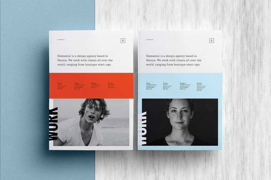 ELEMENTAL: Brochure and Portfolio