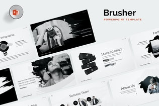Brusher Powerpoint Template