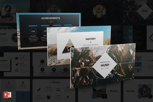 Hush PowerPoint Template