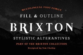 Brixton (Fill and Outline)