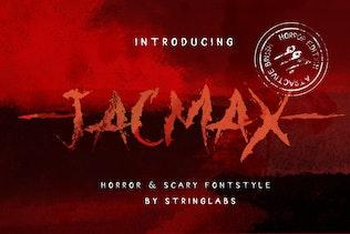 Jacmax - Horror Font