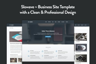 Slowave - Multipurpose Responsive HTML5 Template