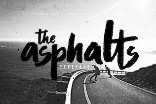 Asphalts Typeface