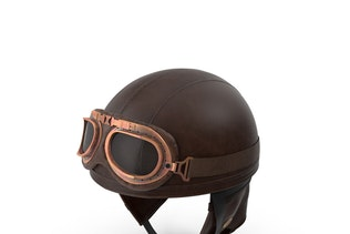 Retro Aviator Helmet