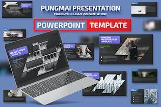 Pungmai Powerpoint Presentation Template