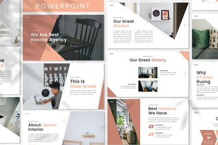 Lances - Art Deco Powerpoint Template