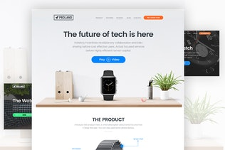 Product Landing Page Template - Proland