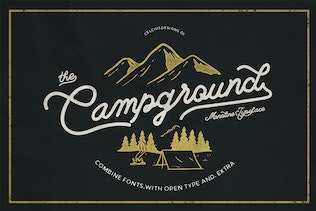 Campground 2 Fonts