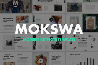 Mokswa - Agency Keynote Template