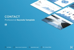 Contact Keynote Template