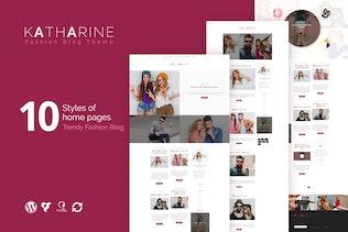 Katharine - Modern Fashion Blog WordPress Theme